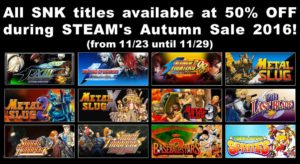 SNK+Steam+sale