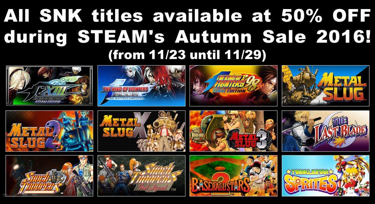 SNK+Steam+sale