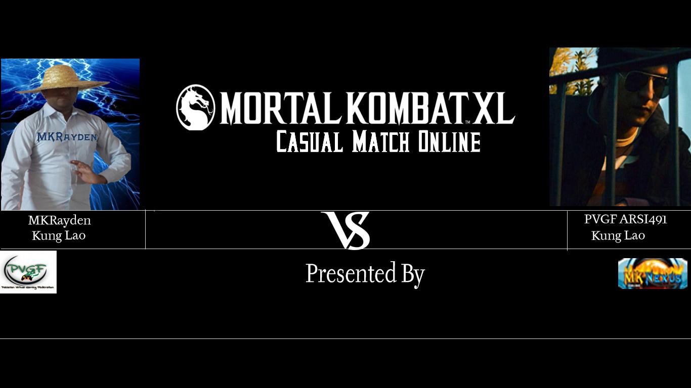 MKRayden vs Arsi491