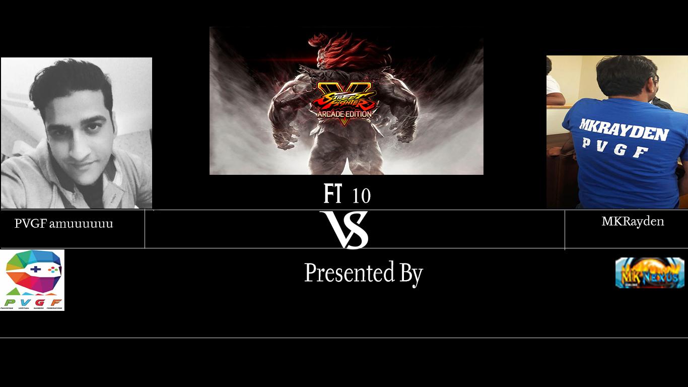 SFVAE PVGF amuuuuuu vs MKRayden ft10