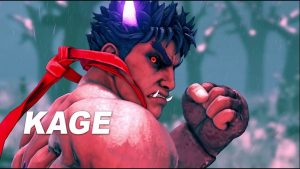 Street Fighter V Arcade Edition Kage Reveal Trailer