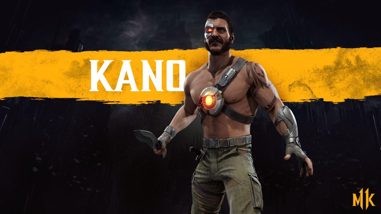 Mk11 Kano Render