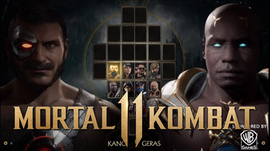 Kano and Geras Intros and Gameplay and Fatality