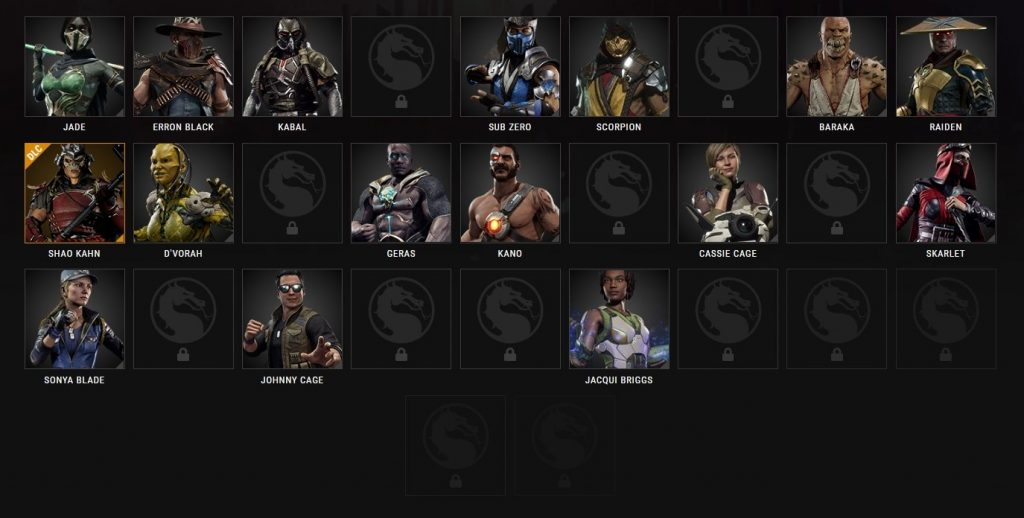Officially Mortal Kombat 11 ROSTER - 29 Characters Confirmed - PVGF