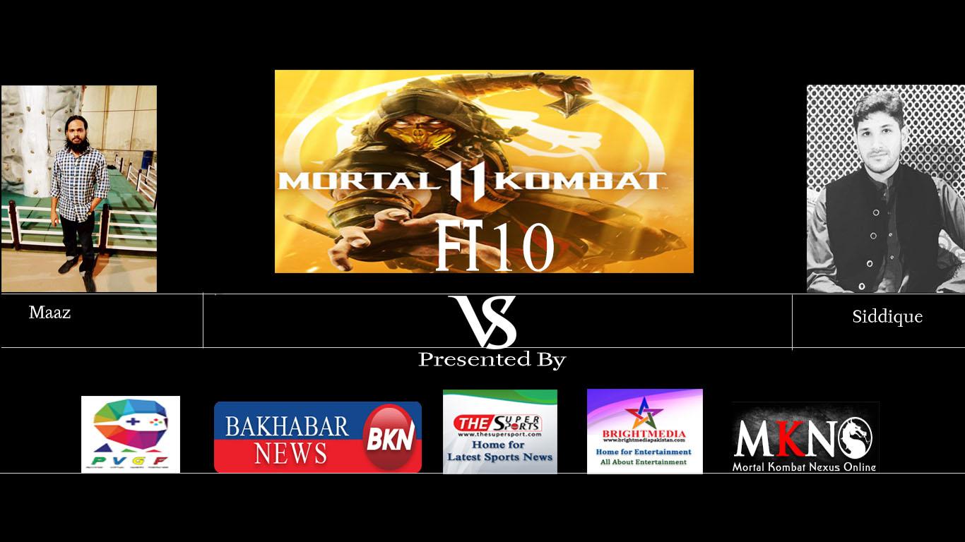 Maaz vs Siddique MK11 FT10