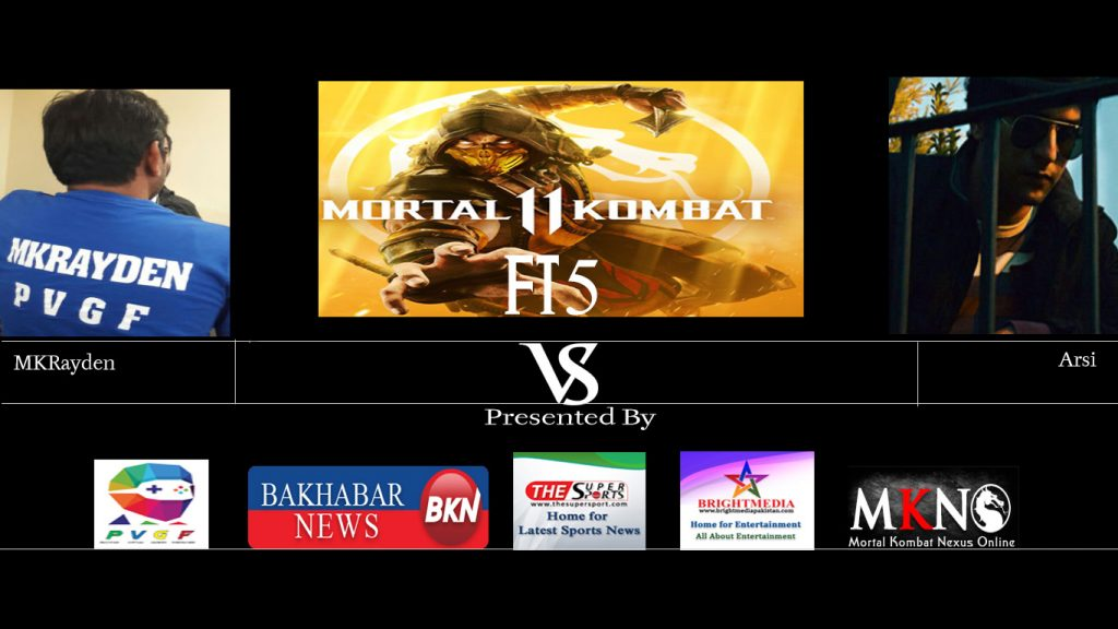 MK11 MKRayden vs Arsi