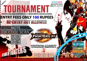 The King of Fighters 97 Tournament Host by Nawaz Arcade
