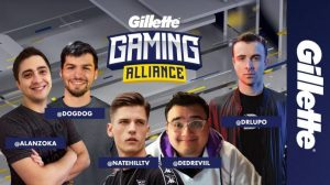 GILLETTE AND TWITCH ANNOUNCE THE RETURN OF THE GILLETTE GAMING ALLIANCE