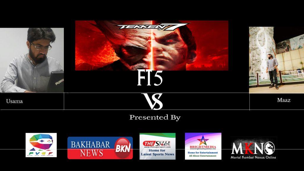Tekken7 usama Maaz FT5