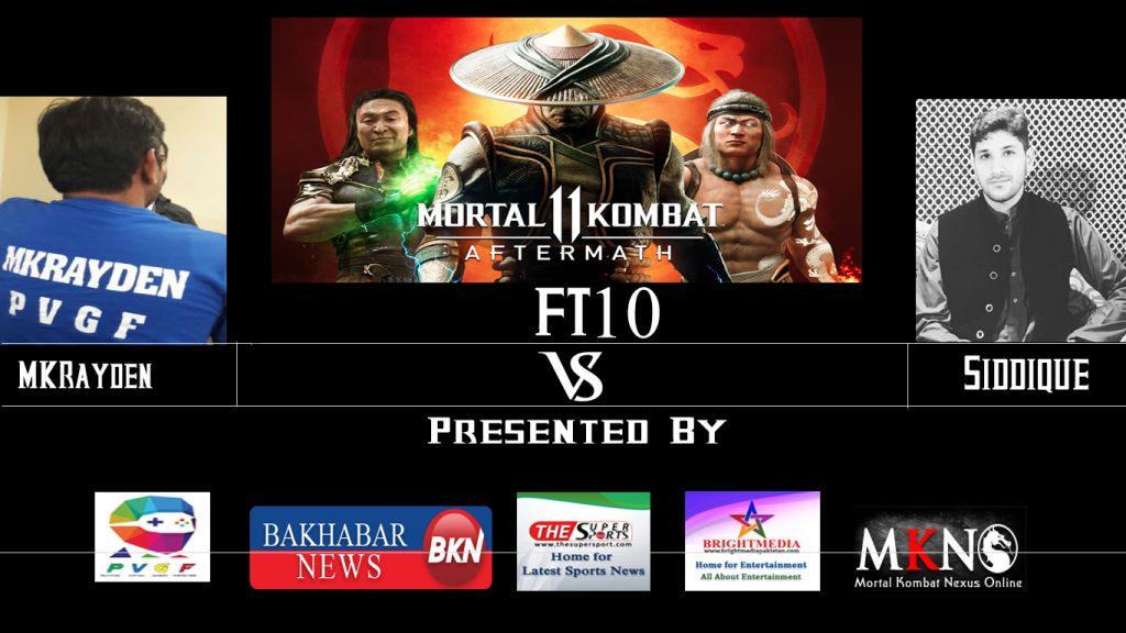 MK11Aftermath MKRayden vs Siddique FT10 1