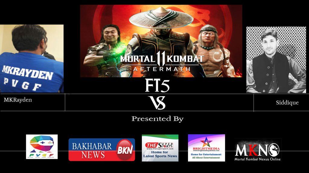 MK11Aftermath MKRayden vs Siddique FT5