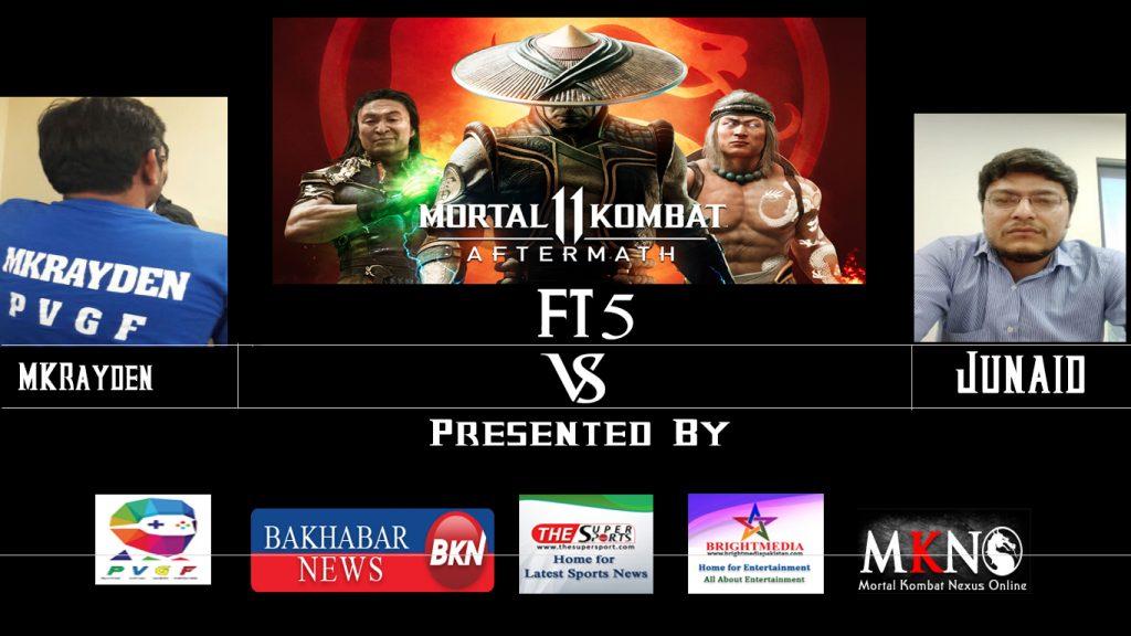 MK11Aftermath MKRayden vs Junaid FT5