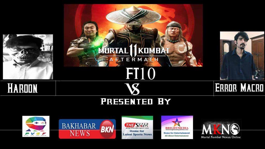 MK11Aftermath Haroon vs ErrorMacro