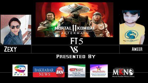 MK11Aftermath Zexy vs Ameer FT5