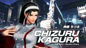 Chizuru Announced for The King of Fighters XV