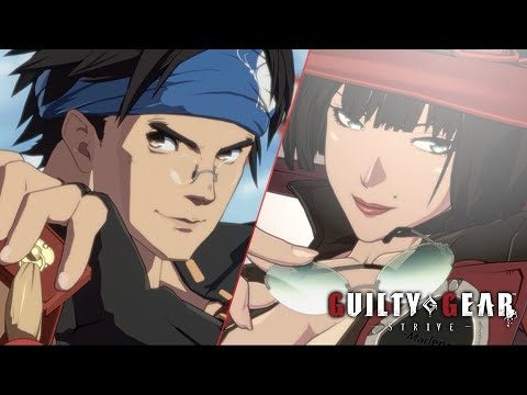 Guilty Gear Strive Anji and I No Gameplay Footage 1