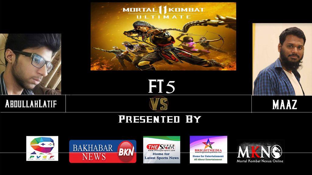 MK11 Ultimate FT5 Abdullatif Vs Maaz