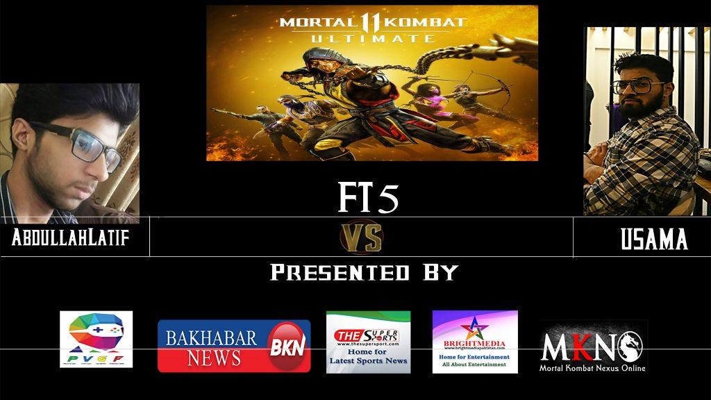 MK11 Ultimate FT5 Abdullatif Vs Usama
