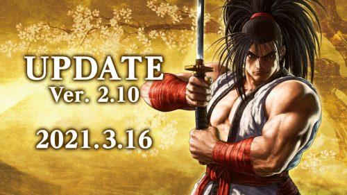 Samurai Shodown Ver 2 10 Patch Notes
