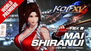 Mai Shiranui Revealed for The King of Fighters XV