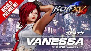 KOF XV|VANESSA|Trailer 23【TEAM SECRET AGENT】 1024x576 1