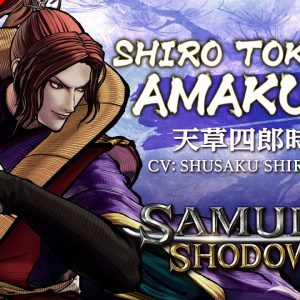 SHIRO TOKISADA AMAKUSA|SAMURAI SHODOWN –DLC Character North America 300x300 1